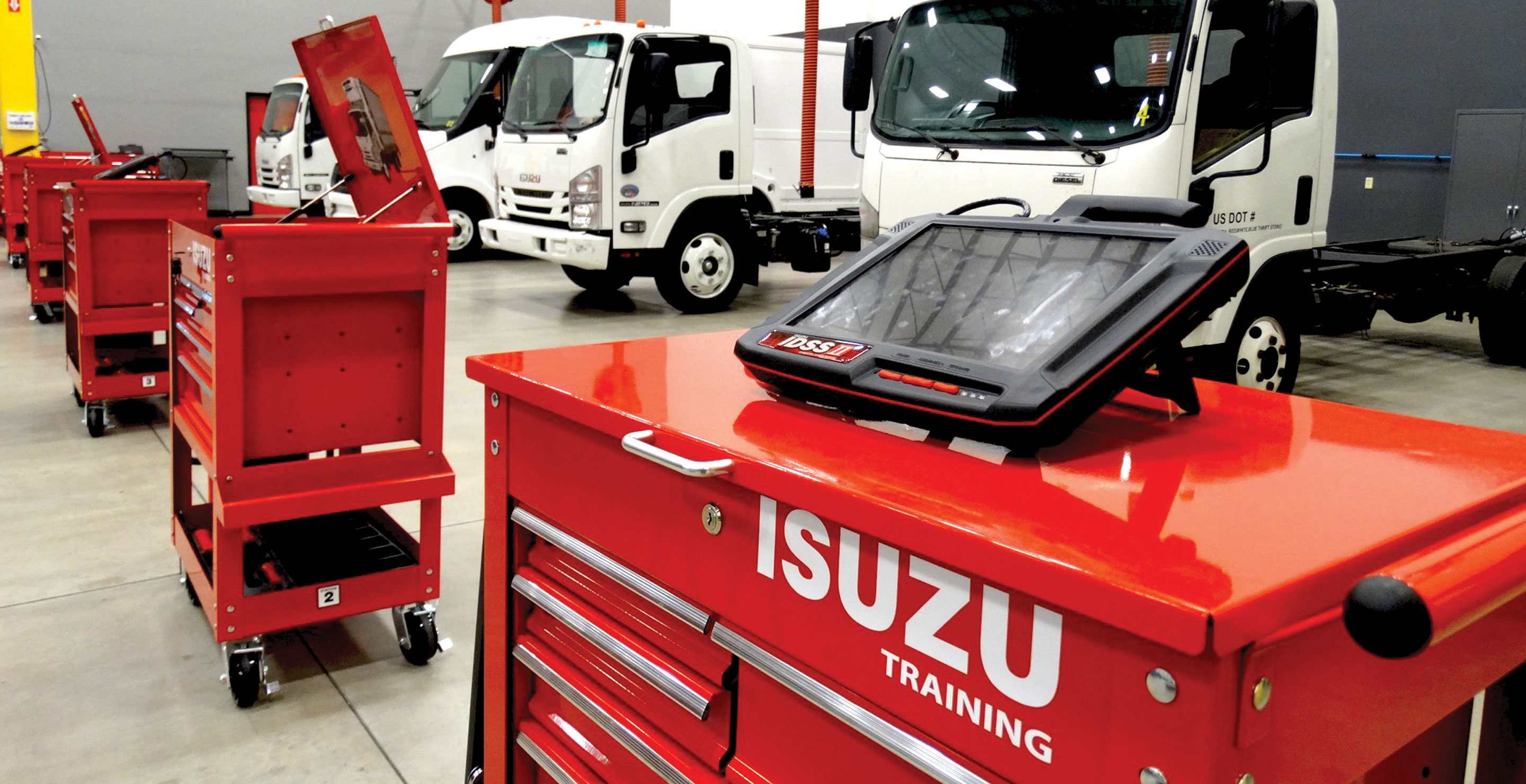 Isuzu North American Technical Competition Held in Mericle Flex