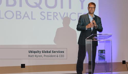 Matt Nyren, Ubiquity Global Services, President & CEO
