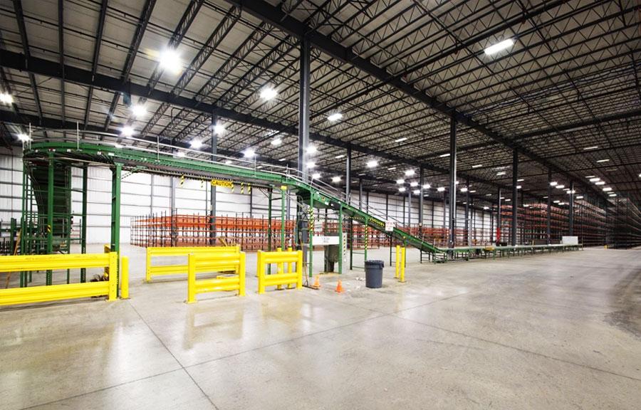 198,400 SF Plug N' Play industrial building at 100-124 Capital Road