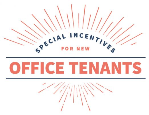 special incentives for office tenants