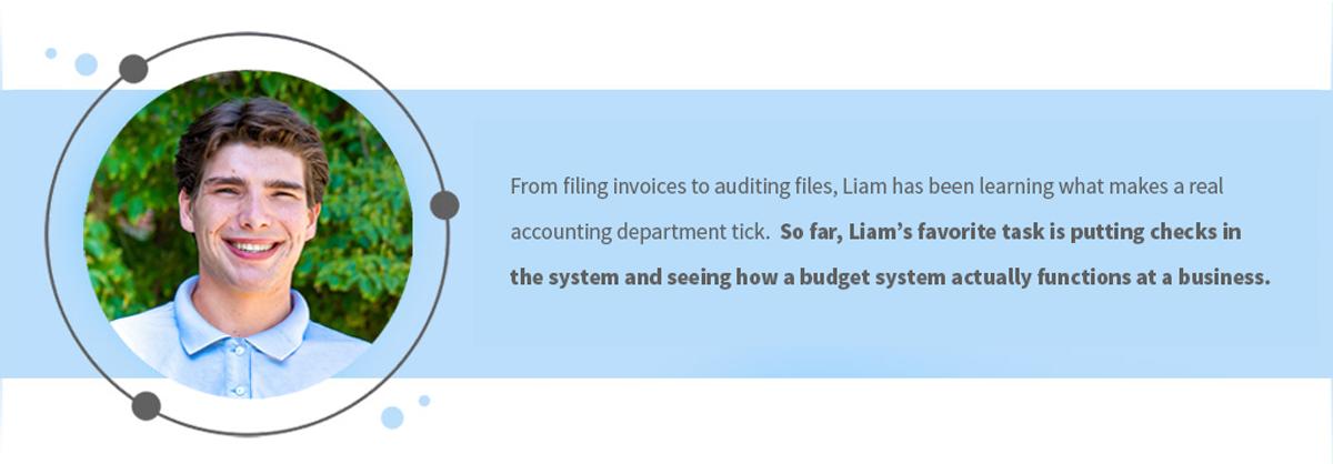 Liam Roe Accounting Dept. Intern